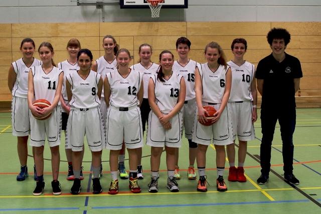 Gruppenfoto Landesliga Damen des TVG