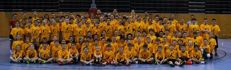 Gruppenbild Ostercamp