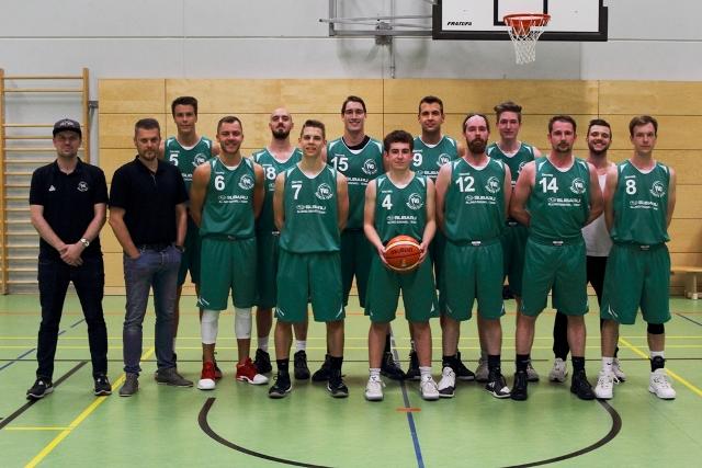 Mannschaftsfoto Landesliga Herren des TVG